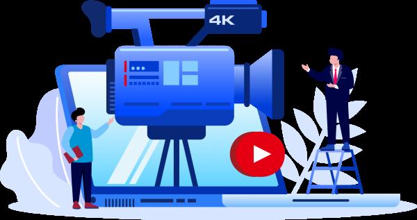 vecteur de camera pour realisation video